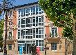 imagen de Fachada del Centro Cultural Ibercaja en Logroño. Foto facilitada por http://bit.ly/1WgHYE7
