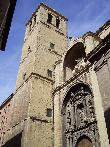 imagen de Fachada de la iglesia de Santiago el Real, Logroño. Foto adquirida de Wikipedia.
