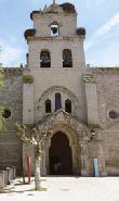 imagen de Iglesia de Santa María en Belorado.Imagen tomada de www.cocemfecyl.es/html/Guia-Camino-Santiago-cocemfe.pdf