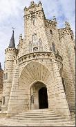imagen de Palacio Episcopal en Astorga. Imagen tomada de www.cocemfecyl.es/html/Guia-Camino-Santiago-cocemfe.pdf