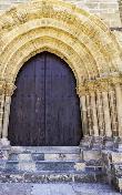 imagen de Puerta del Perdón en Villafranca del Bierzo. foto www.cocemfecyl.es/html/Guia-Camino-Santiago-cocemfe.pdf