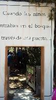 image of Entrada a cuenta cuentos en zona bosque. Ancho libre de paso superior a 80 cm.