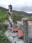 imagen de Vista aérea del monasterio de Arantzaru. Foto tomada de Wikipedia.